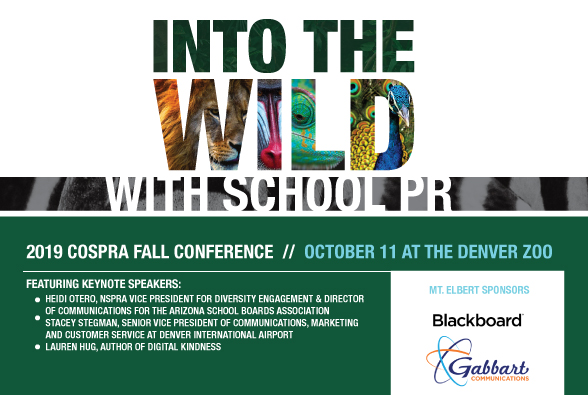 CoSPRA Fall Conference - Save the Date!